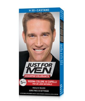 Just For Men šampón na šedivé vlasy H-30 Dark Blond